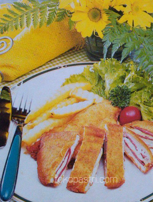 Resep Cara Membuat Ayam Panir Lapis Keju Keju Resep Ayam Makanan