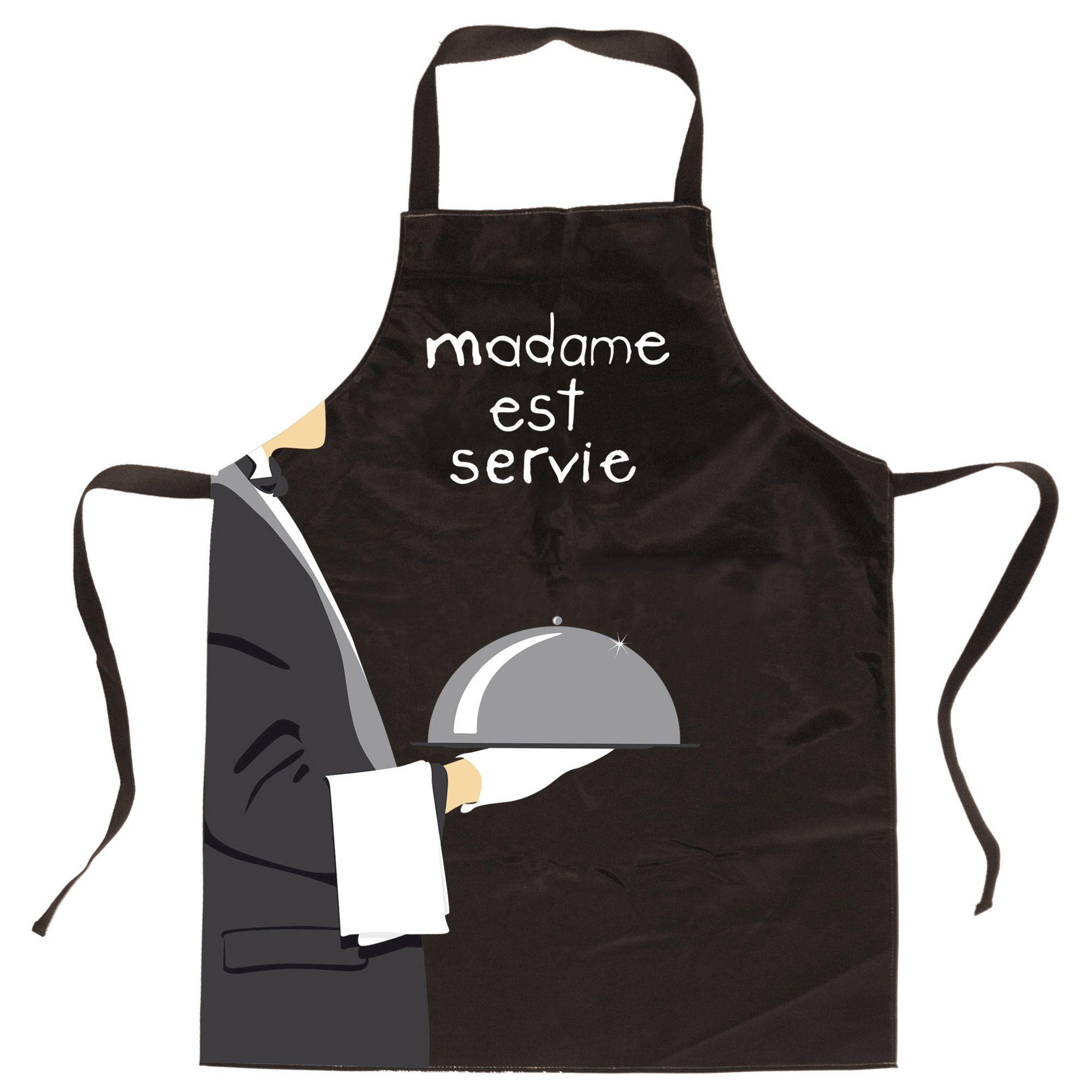 Peinture Decorative Sur Tablier Cuisine Recherche Google Couture Apron Madame
