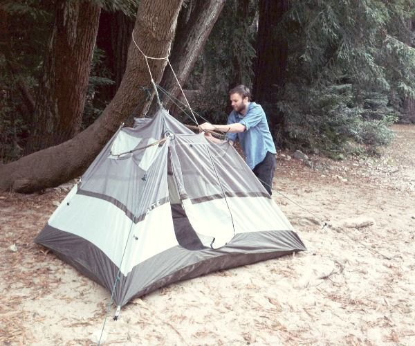 Places To Camp Pa: Pitch A Tent Without Poles