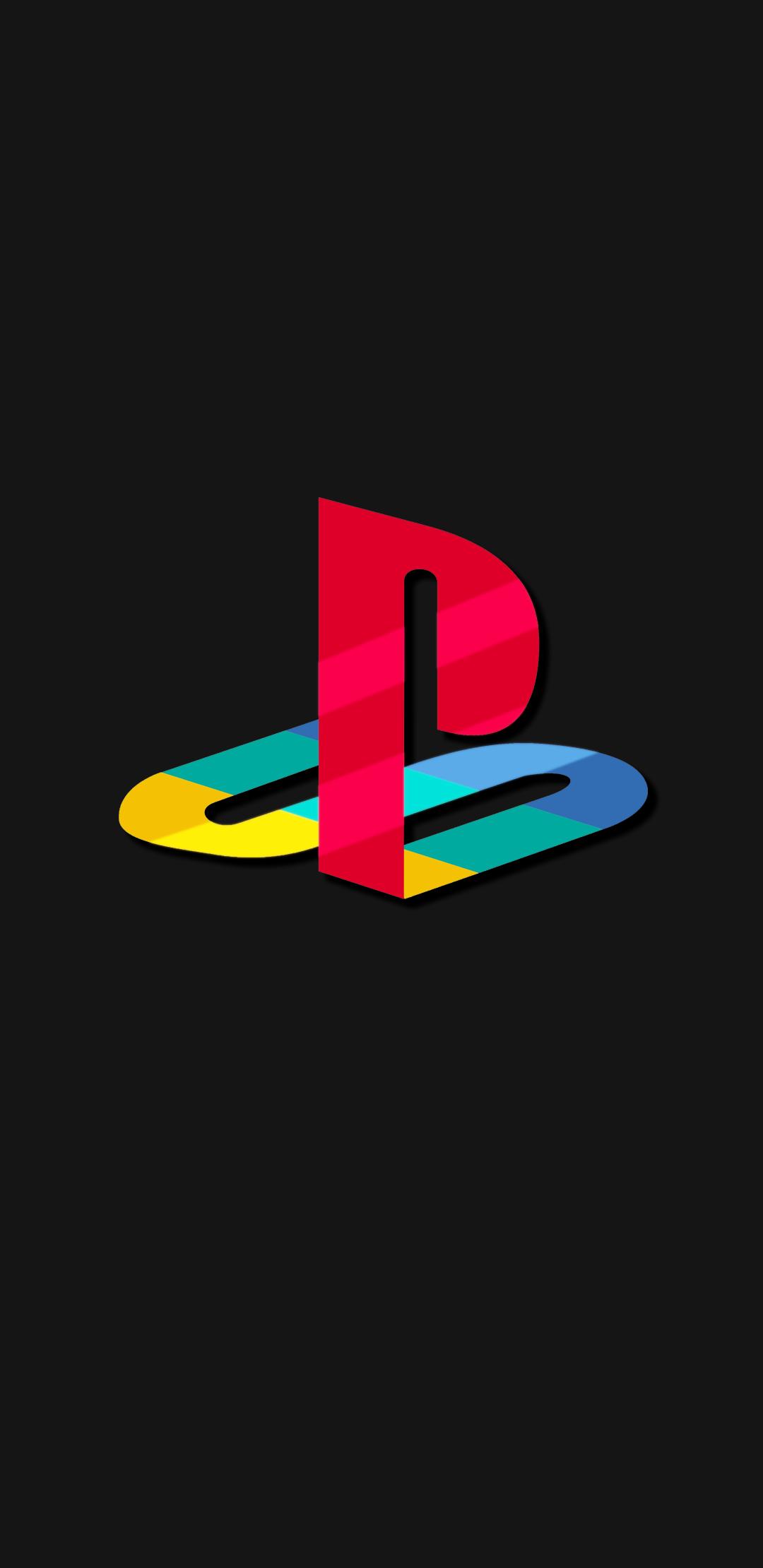 Playstation Original Logo Dark Gray Just Made It Playstation Logo Wallpaper Diy Crafts Phone Wallpaper
