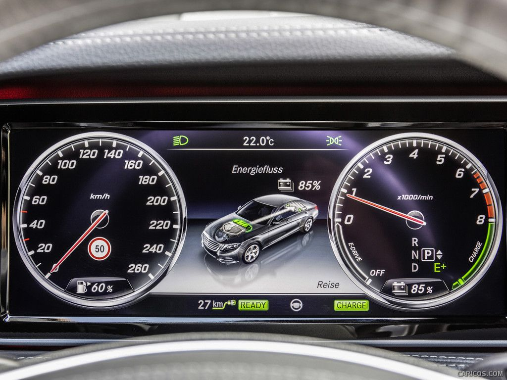 2015 Mercedes-Benz S500 Plug-In Hybrid Wallpaper