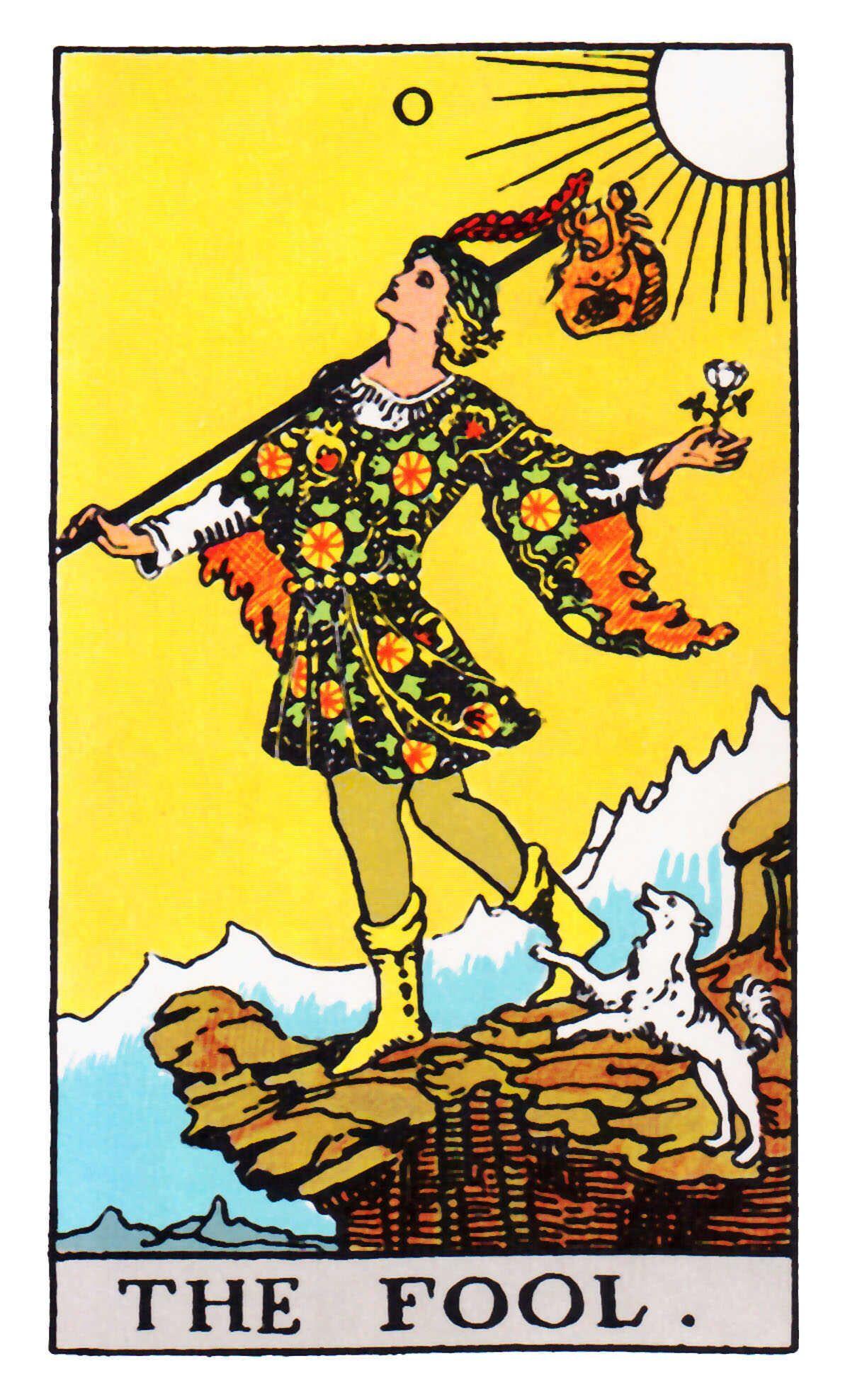 Tarot, The Fool, Classic