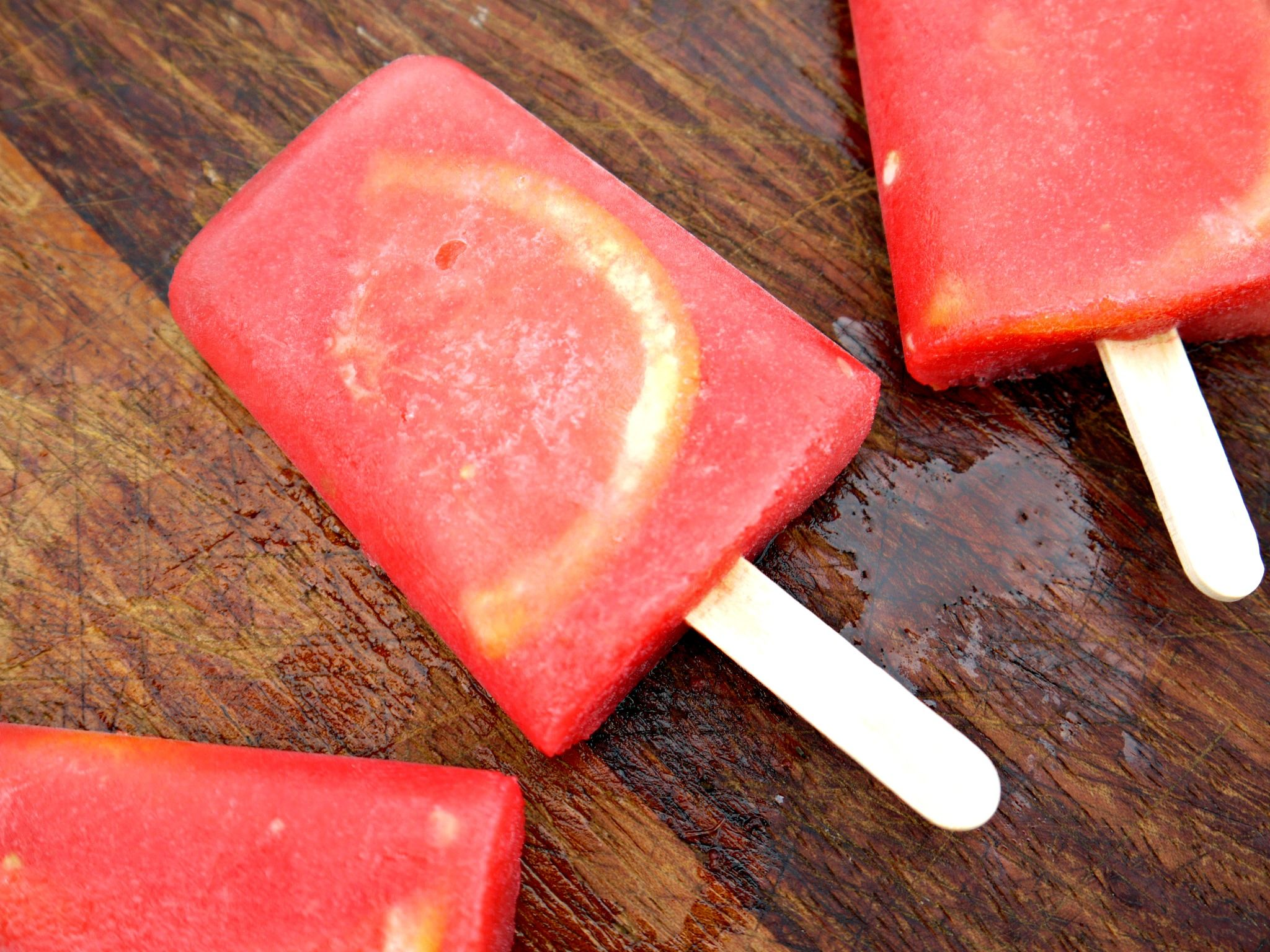 The most refreshing & easy treat you will make this Summer! Cut up some watermelon & blend it using a handblender. Slice some grapefruit. Pour the blended watermelon into popsicle containers (Dunnes Stores, any value store) &stuff in 1 or 2 wedges of grapefruit. Freeze them for a few hours or overnight. These are delicious, …