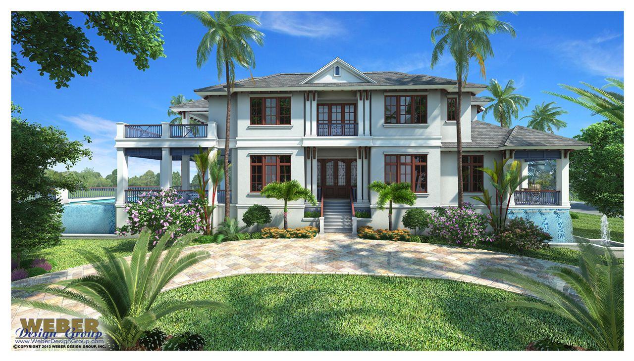 Best Kitchen Gallery: Caribbean House Plan Contemporary Luxury Beach Home Floor Plan of Modern Caribbean House on rachelxblog.com