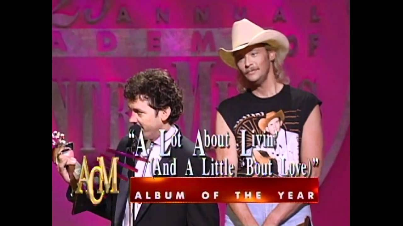 Alan Jackson Wins Album Of The Year For A Lot About Livin Acm