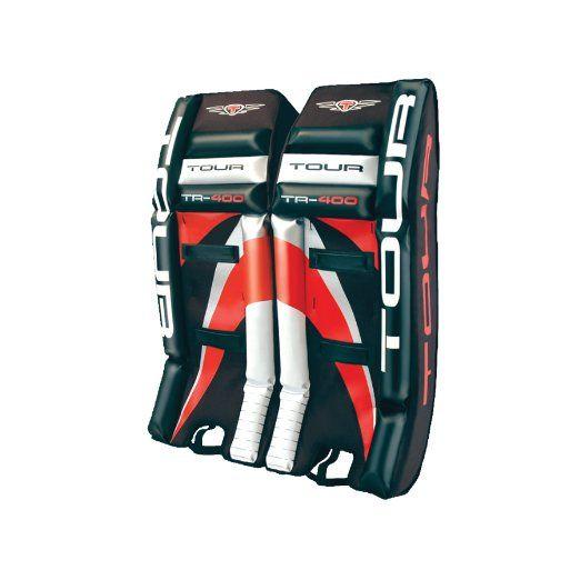 Tour Hockey Youth Tour 400 Leg Pads 27 Inch 90 Hockey Goalie Pads Goalie Pads Inline Hockey