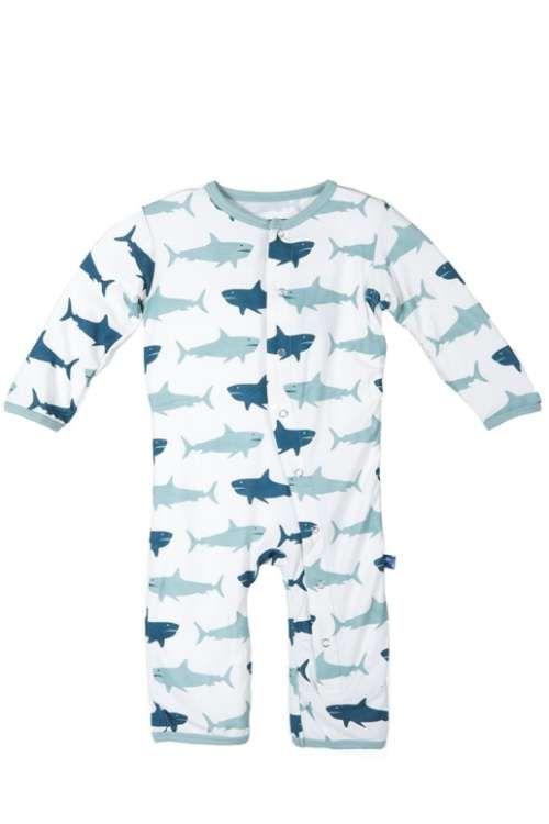 a5f184ecc68f KicKee Pants Natural Megalodon Sharks Coverall
