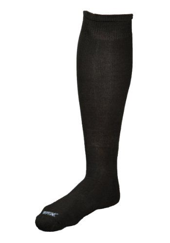 Black Friday Louisville Slugger TPX Solid Baseball/Softball Socks, Black, Large from Louisville Slugger Cyber Monday
