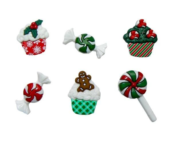 The Cupcake Trend Meets Traditional Christmas Candies In