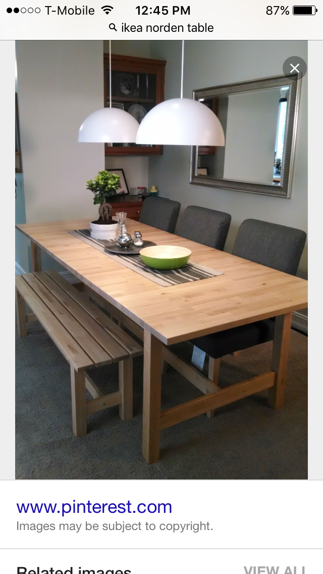 Dining Table Bench Seat Ikea Set Dinning Room