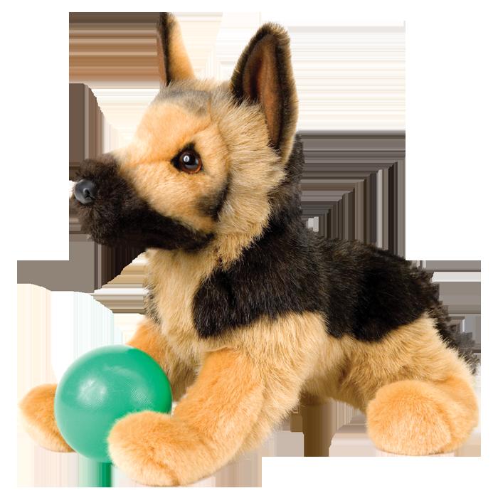 Realistic plush ) So cute!!! German shepherd plush