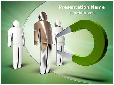 Magnet Attracting Powerpoint Template Is One Of The Best