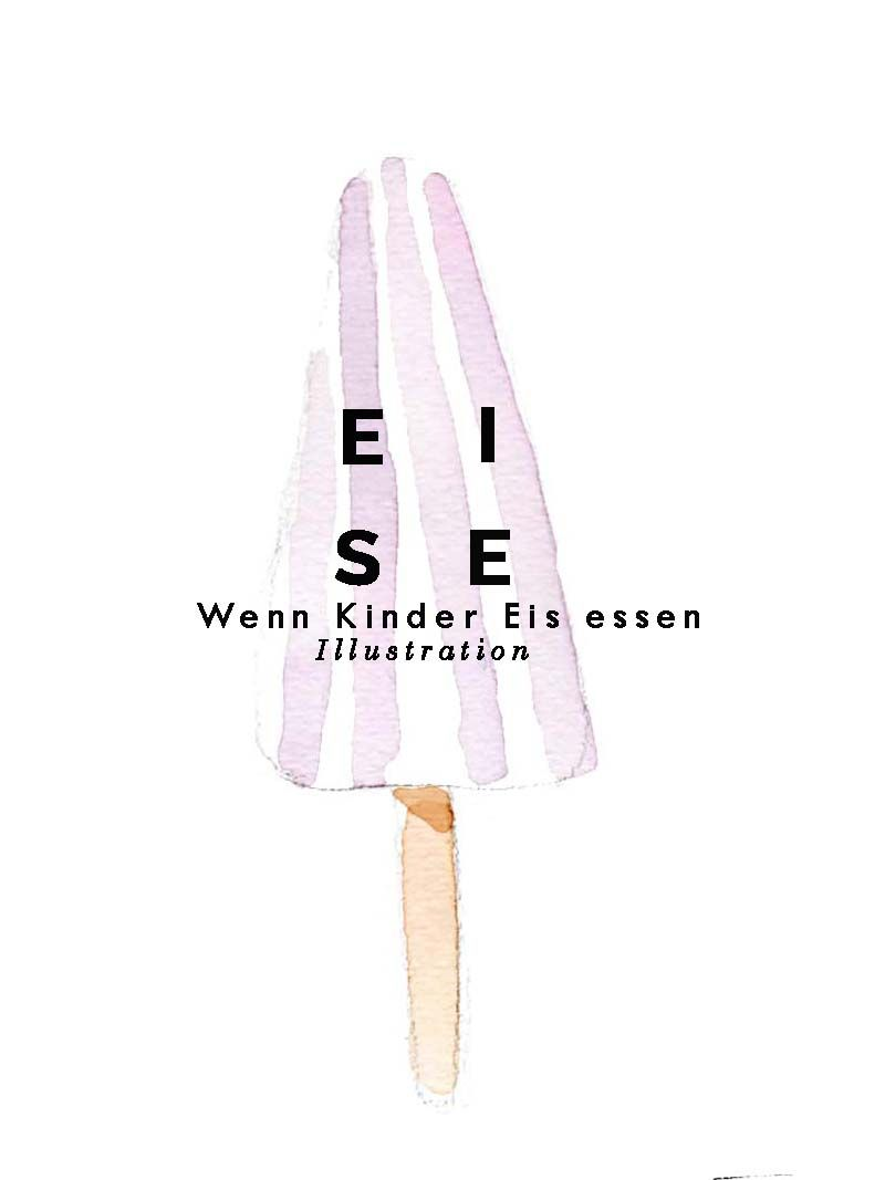ILLUSTRATIONEN // Eis und Kinder ? - Keine gute Idee
