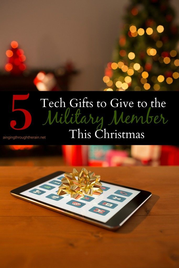 5 Tech Gifts to Give to the Military Member This Christmas | Tech ...
