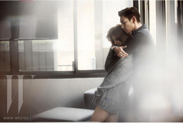 Yoon Eun Hye + TOP bigbang