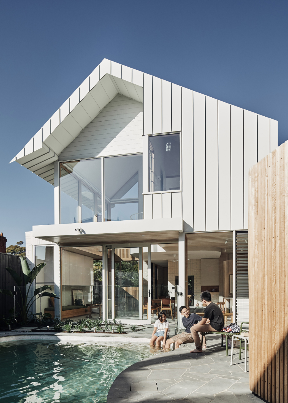 Architecture Practice Timmins Whyte Has Added A Double Height Gabled Extension To A 19th Century Ho In 2020 Melbourne House House Extension Design Architecture House