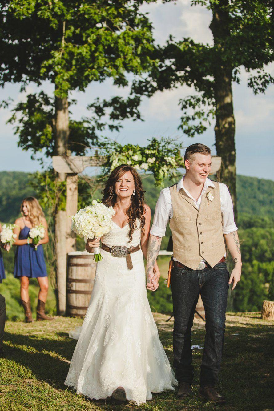 Cornfield county wedding country farm farming and wedding