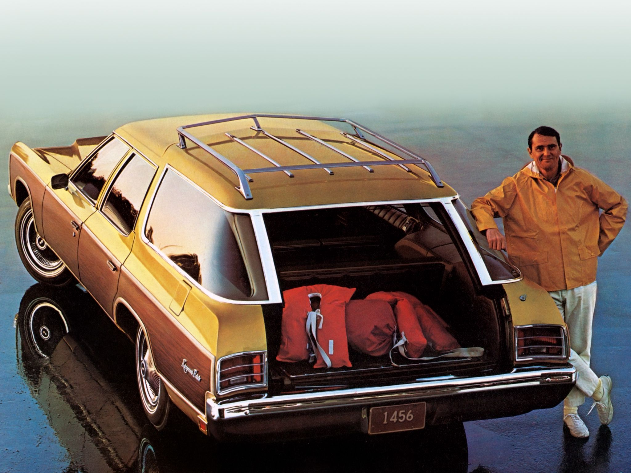 1971 Chevrolet Kingswood Estate Brochure Photo I Feel Fortunate