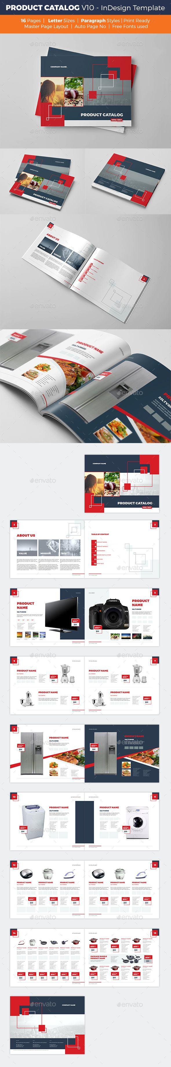 Product Catalog Template - V10 | Diseño de catálogos y Catálogo