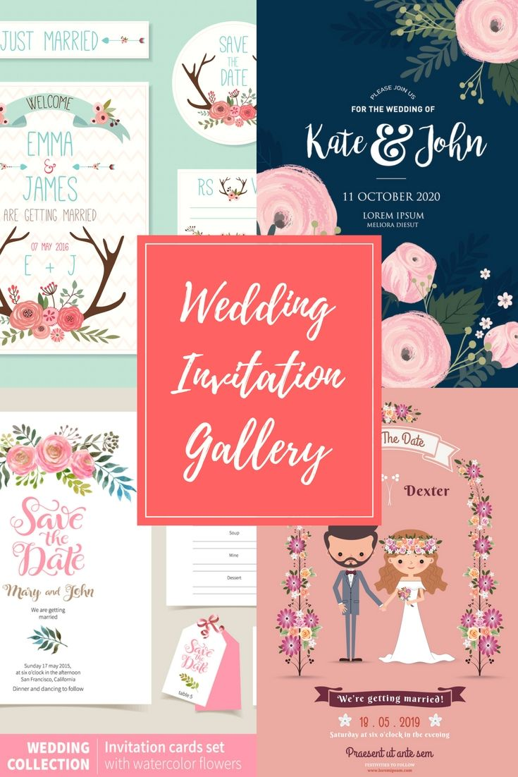 Professional Wedding Invitations Format Online For Your Own Great ...