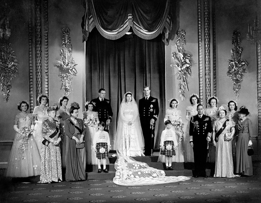 A look back at the royal bridesmaids of Queen and Prince