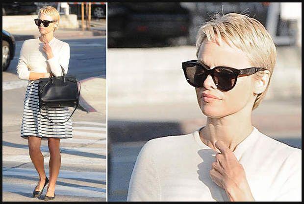 Neue Frisur Pamela Andersons Kurze Haare Pamela Anderson Hat Kurze
