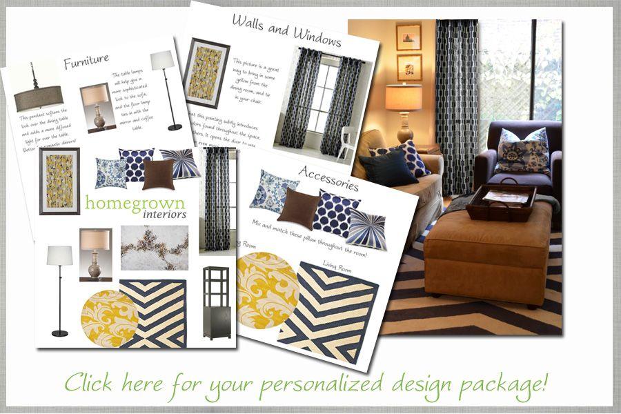 HomegrownInteriors | EDecorating | Online Interior Design | Online  Decorating