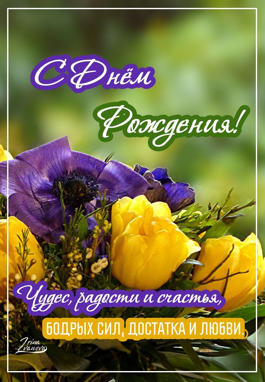 Pozdravleniya S Dnem Rozhdeniya Krasivye V Proze Zhenshine Muzhchine Podruge Mama Sestre Happy 2nd Birthday Holiday Birthday Birthday Cards