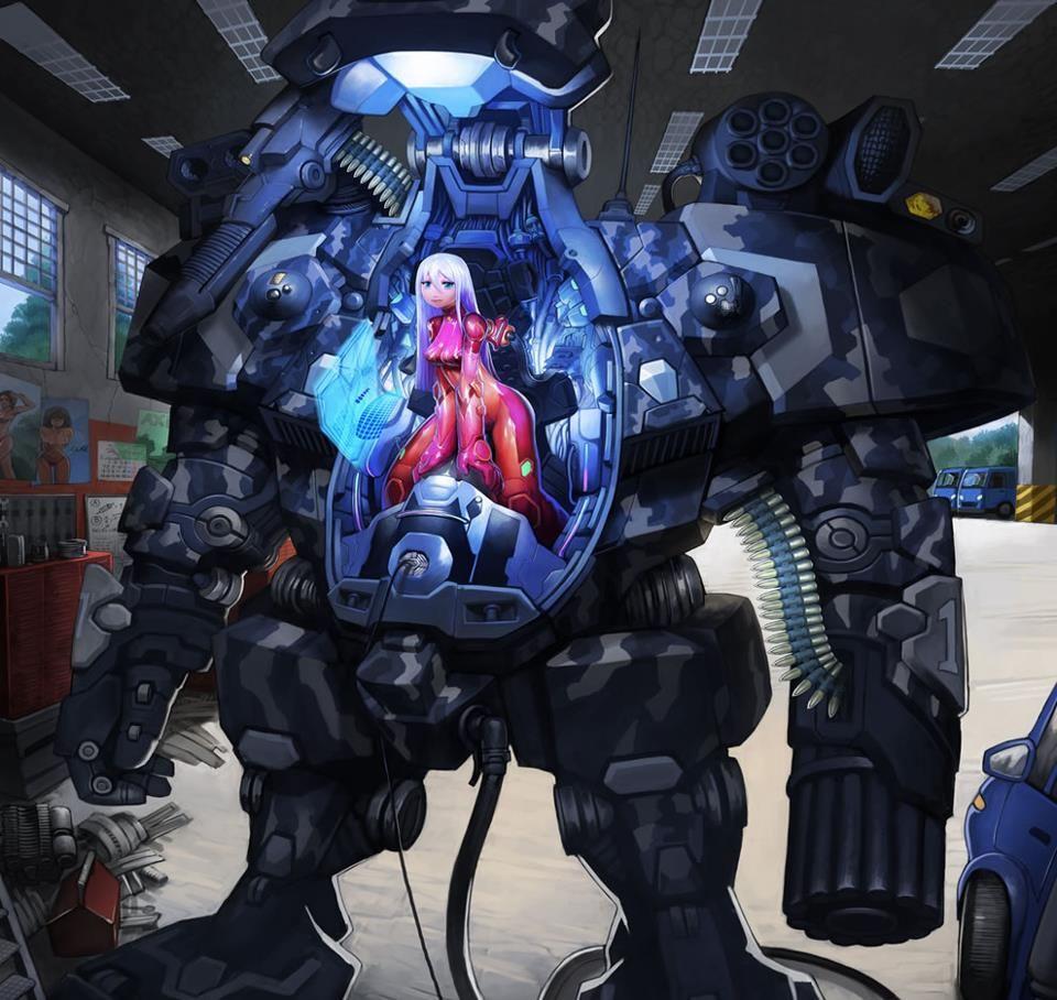 Anime SciFi Art Mech