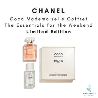 3960446aae2 Chanel Coco Mademoiselle Essentials for the Weekend | We love CHANEL ...