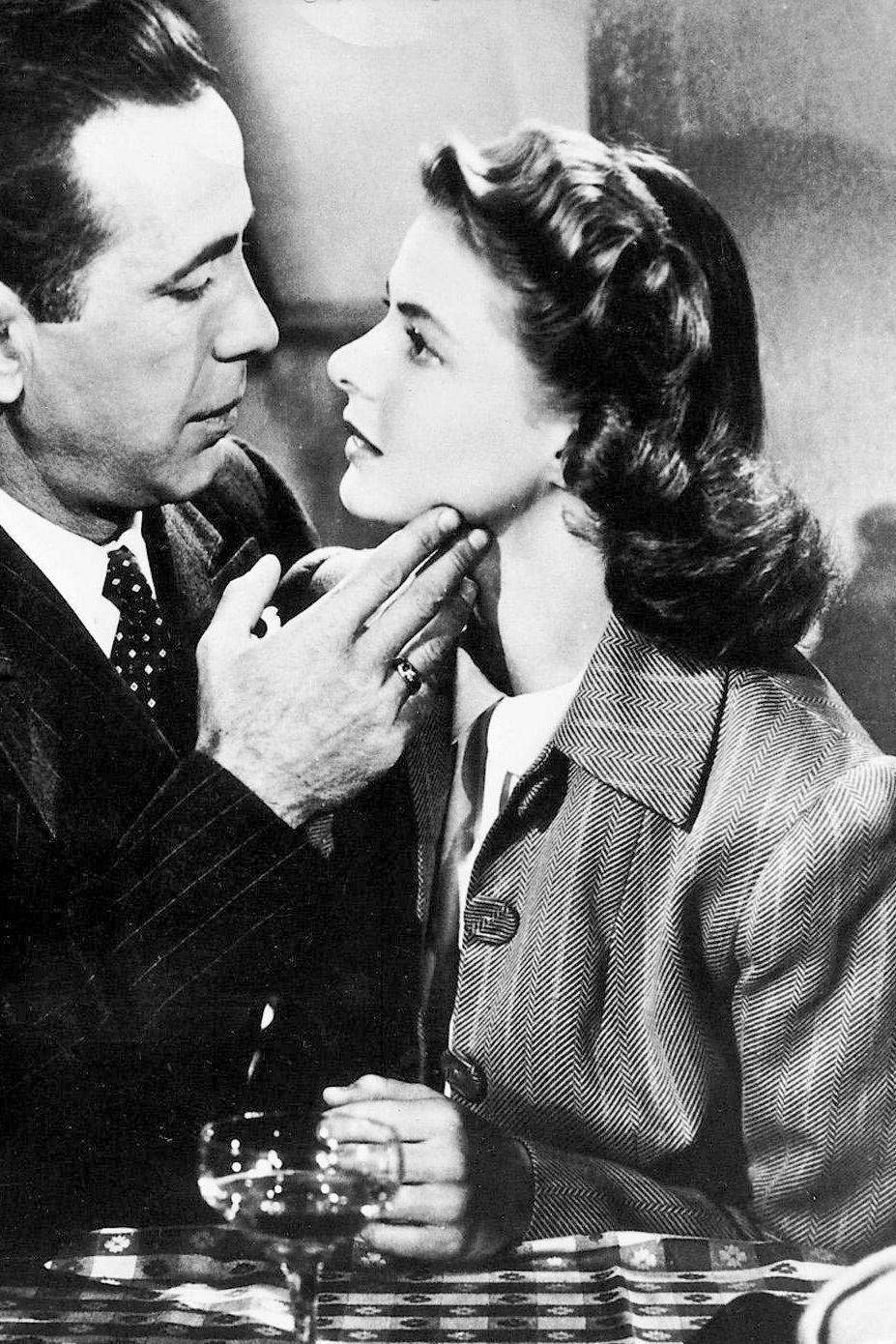 "Casablanca 1942 Ilsa Lund (Ingrid Bergman) ""Embrasse"