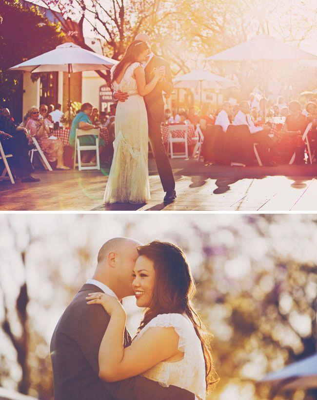 #Backyard #Joycie #Soiree #Steven #Wedding -   Large umbrellas instead of a traditional tent? #largeumbrella