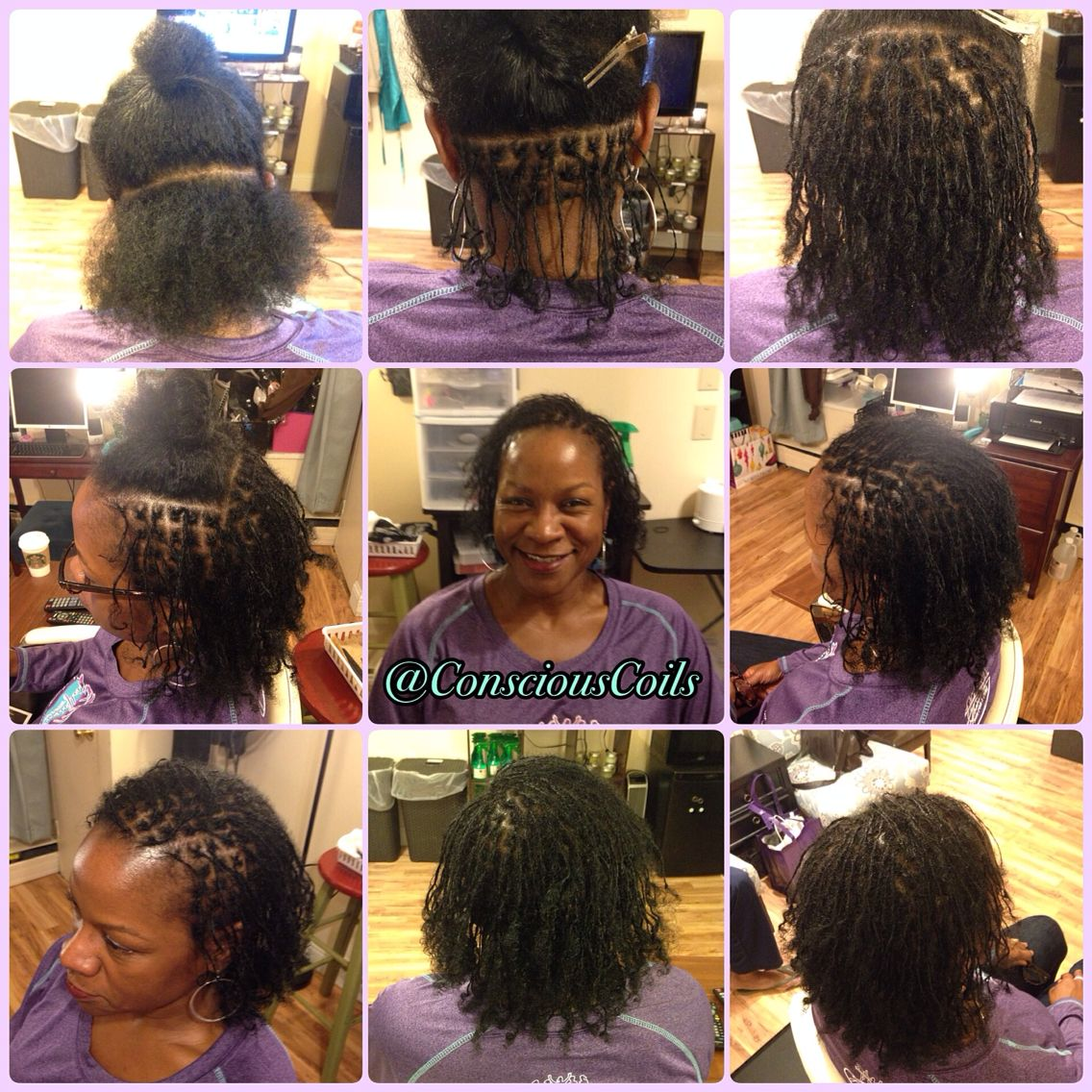 Style Loc Install Interlocks Client S Hair Type 3b 3c Hair