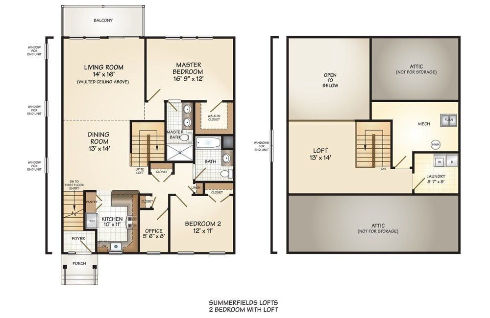 2 Bedroom Basement Apartment Floor Plans Loft Floor Plans Floor Plans Bedroom Floor Plans