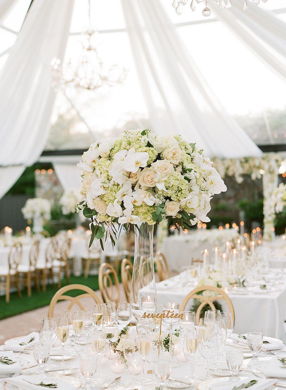 Real Wedding Inspiration | White, Gold, Green & Neutrals | Wedding ...