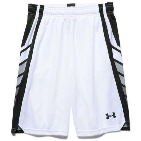58a9533170d Under Armour Boys  UA Select Basketball Shorts ( 30) ❤ liked on Polyvore  featuring white