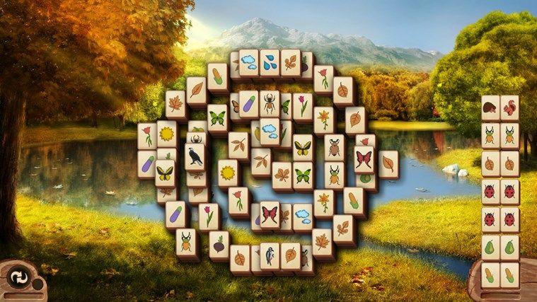 Microsoft Mahjong captura de pantalla 1