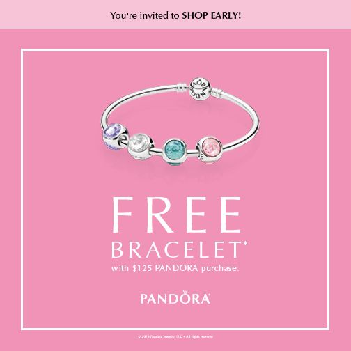 It S Pandora Free Bracelet Event Time Join Us On March 23