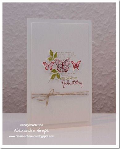 kindness matters / stampin' up / bloomin' marvelous leaves / thank you