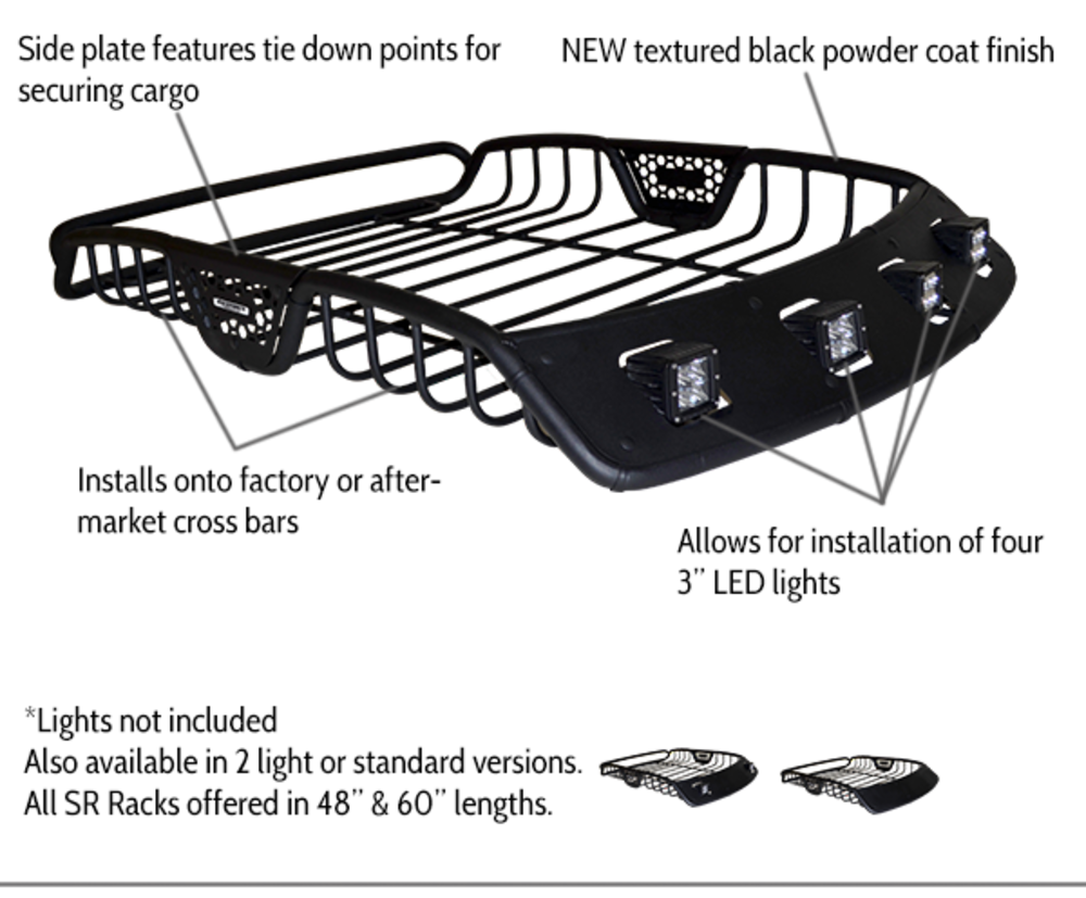 Sr Rack Quicksand Trucks Jeep Renegade Baja Designs Led Hid Universal Wiring Harness Splitter 2light 3pin