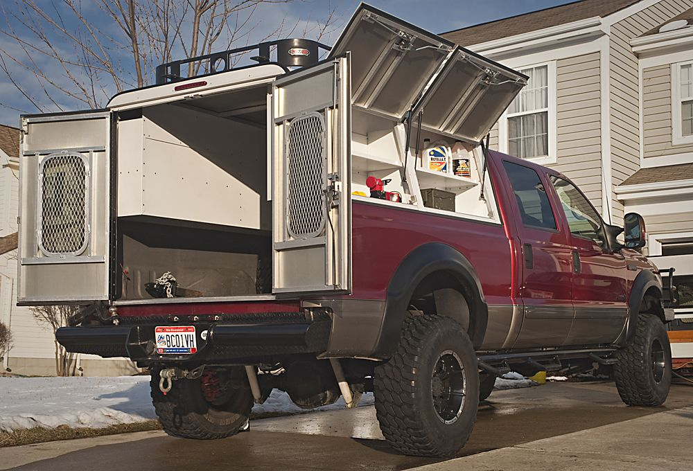 A R E Dcu Aluminum Cap With Barn Doors New Expedition Portal Camper Shells Truck Camper Shells Truck Camper
