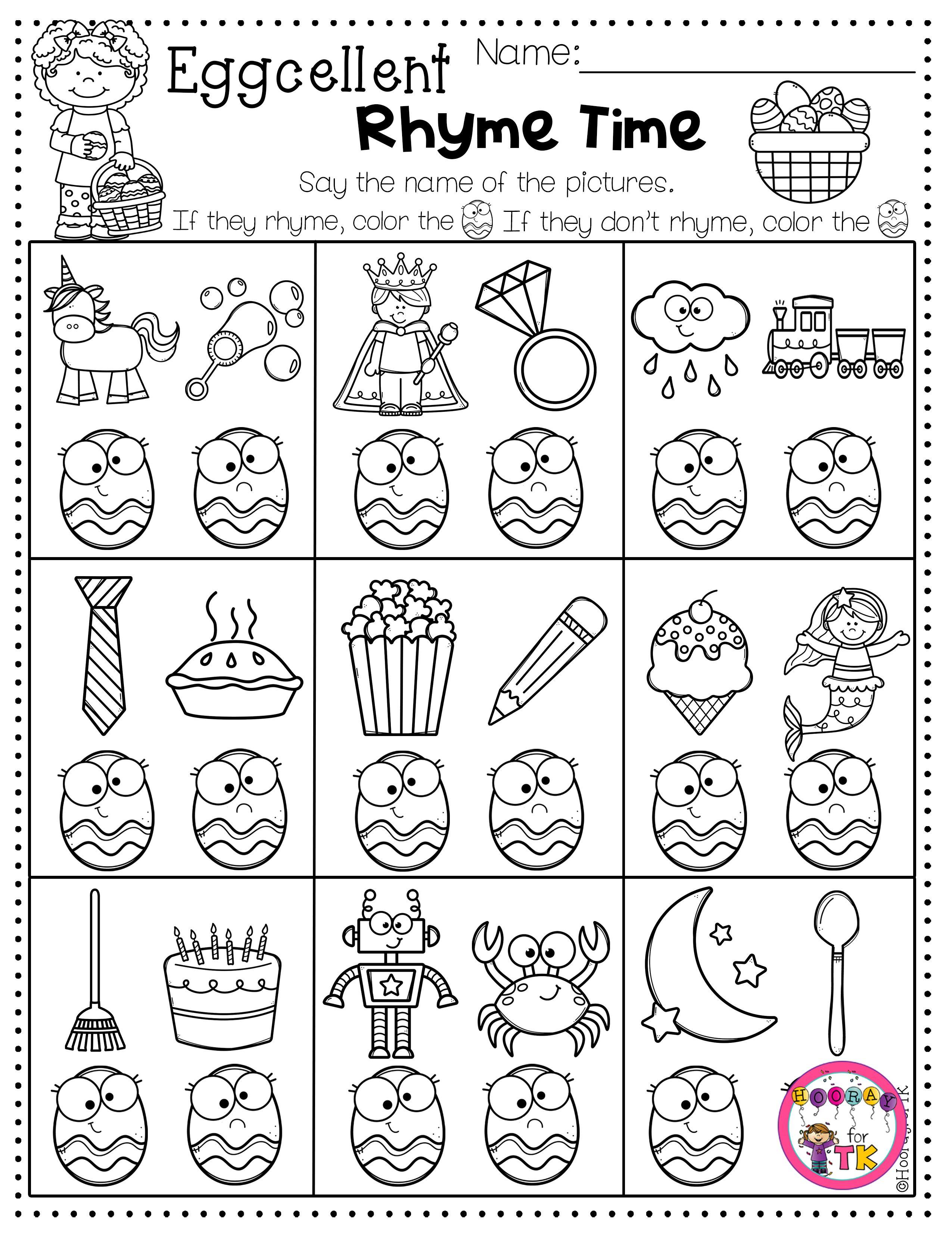 Easter Worksheets For Kids Easter Math Kindergarten Easter Worksheets Kindergarten Worksheets [ 3300 x 2550 Pixel ]