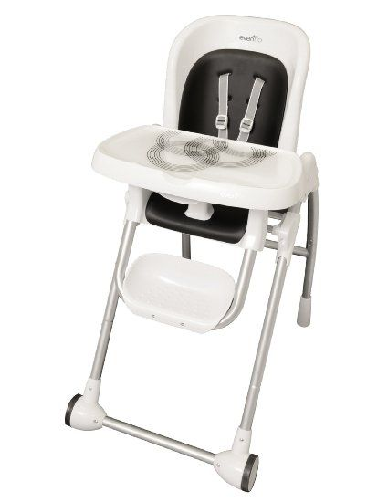 Amazon Com Evenflo Modern High Chair Black Baby High Chair