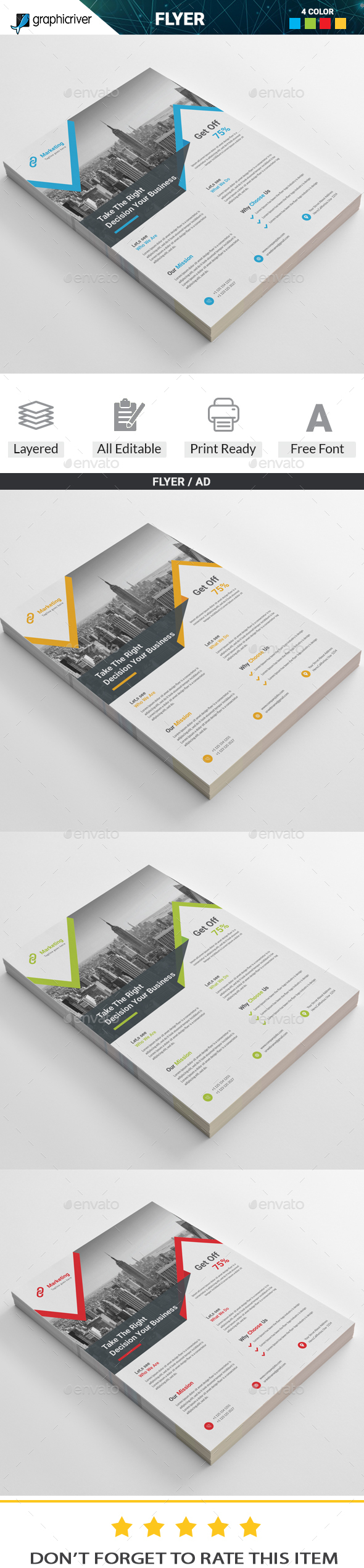 Flyer - Corporate Flyers Download here: https://graphicriver.net/item/flyer/19863707?ref=classicdesignp