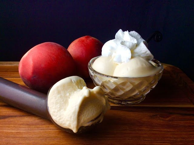 Food Fitness von Paige: Peachy Peach Frozen Yogurt - #Fitness #Food #Frozen #Paige #Peach #Peachy #v...