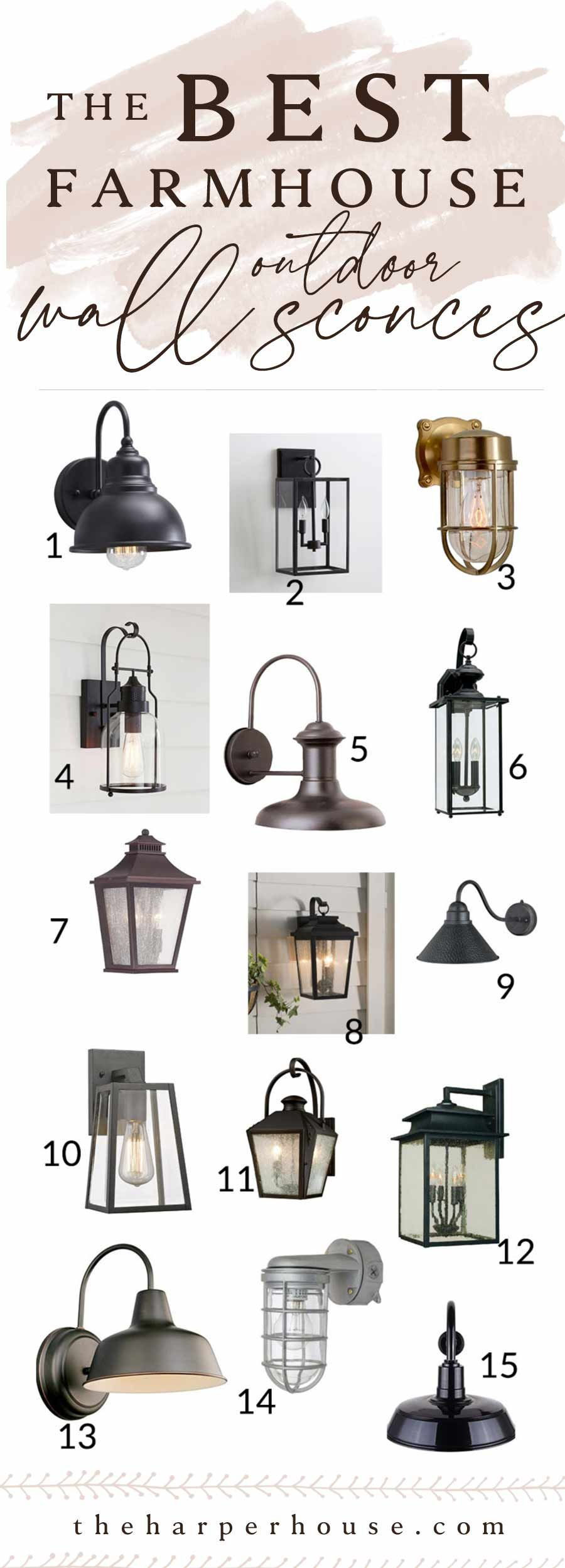 Outdoor Wall Lights Fixer Upper Style The Harper House Farmhouse Outdoor Lighting Fixer Upper Lighting Fixer Upper Light Fixtures Modern farmhouse outdoor lighting ideas