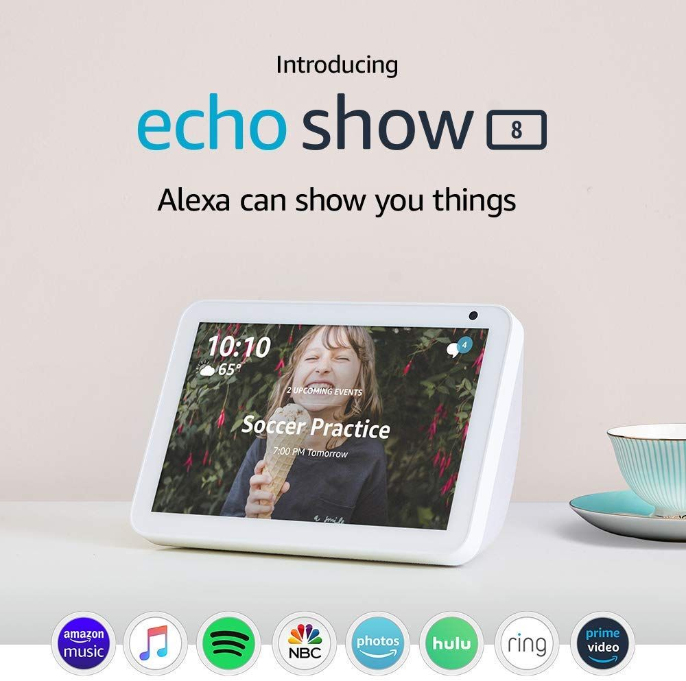 Check out this Amazon deal Introducing Echo Show 8 HD 8