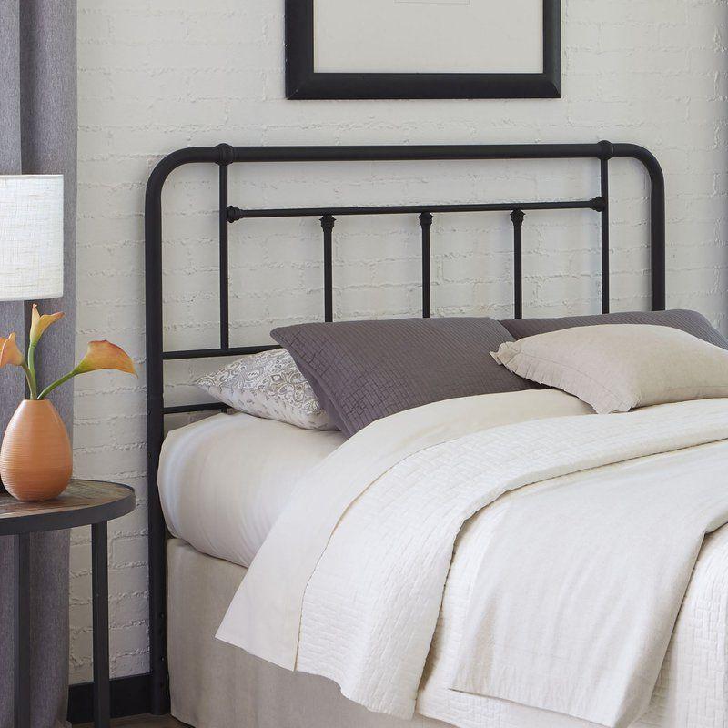 Maryellen Metal Open Frame Headboard | Master Bedroom | Pinterest .