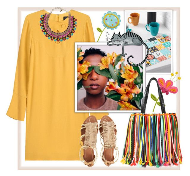 """""""Be colourful inside & outside"""" by natalyapril1976 ❤ liked on Polyvore featuring Derek Lam, Simons Maison, Iman, Visconti & du Réau, Etro and Emilio Pucci"""