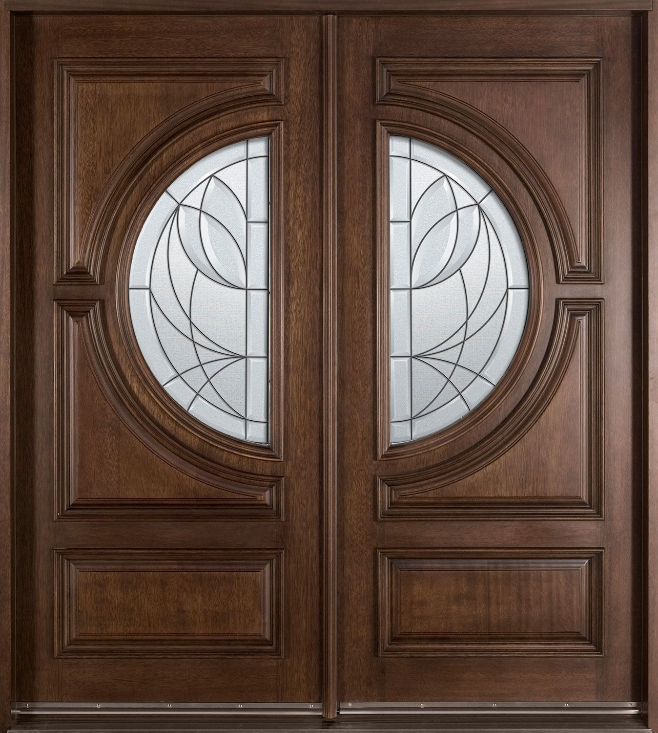 Custom Entry Door • Solid Wood • Transitional Collection • Double • GD-385S DD